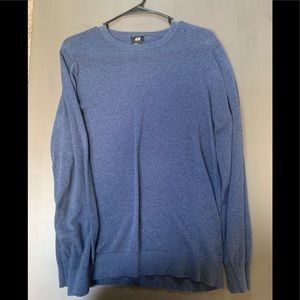 Navy blue Crewneck sweater from H&M
